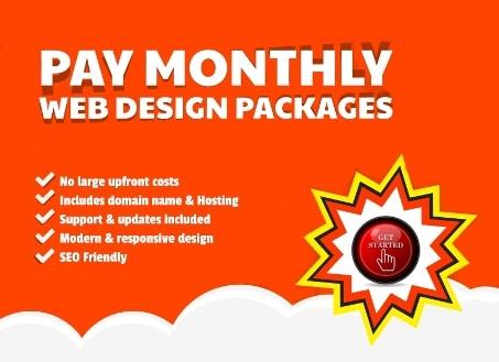 Pay Monthly Website Design Advantages